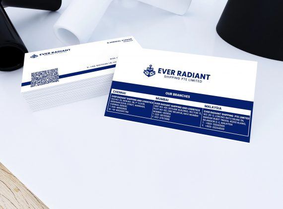 Business Card for Ever Radiant